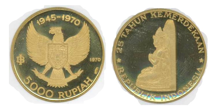 uang kuno 5000 rupiah