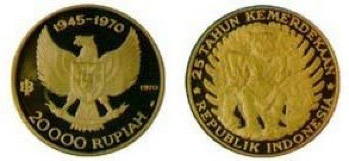 Uang kuno 20000