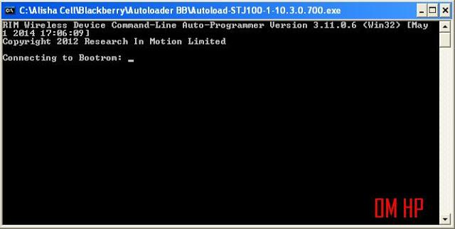 Cara menginstal OS BB z10 menggunakan autoloader stl100-1 sangat mudah.