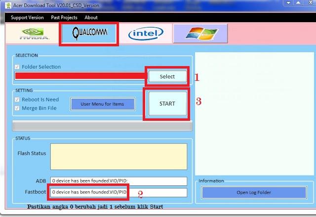 Tool Acer Z220