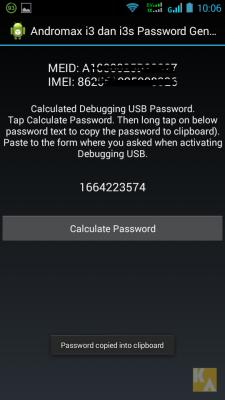 cara mengetahui password usb debugging smartfren andromax i3s, cara mudah mengaktifkan password usb debugging, kaskus, xda developers, cara root smartfren andromax i3s     sarewelah.blogspot.com
