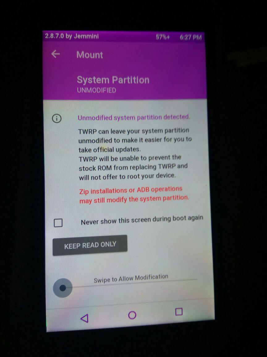 Asus Zenfone Go Z00VD : Unlock Bootloader TWRP root xposed