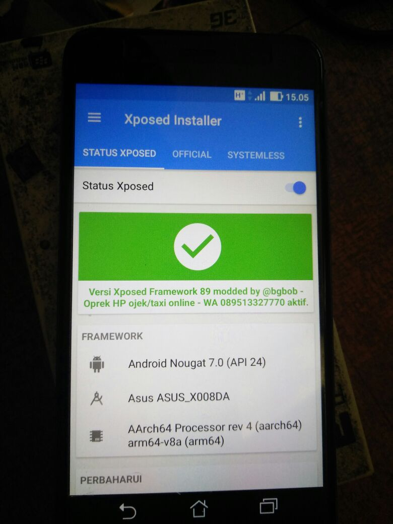 Zenfone 3 X008DA : unlock bootloader and twrp – Bob's note