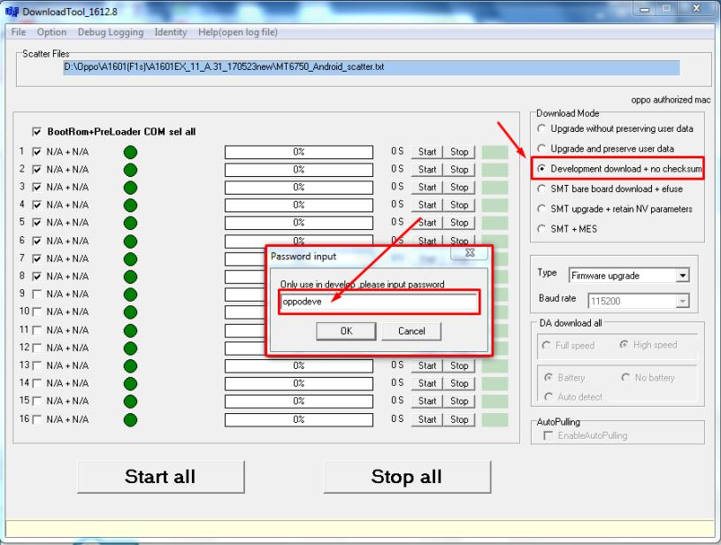 Oppo F1s : downgrade/unbrick/fix vibrate – Bob's note